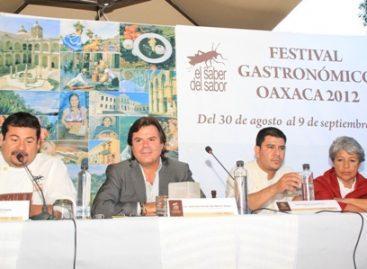 """Inicia Festival """"El saber del sabor 2012""""; participan chefs locales, estatales e internacionales, en Oaxaca"""