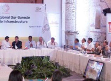 Clausuran Reunión Sur–Sureste de la Comisión de Infraestructura de la CONAGO, en Oaxaca