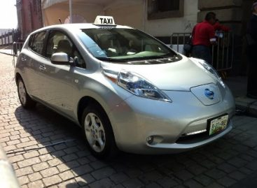 Taxis cero emisiones, muestra de la vanguardia en la Ciudad de México