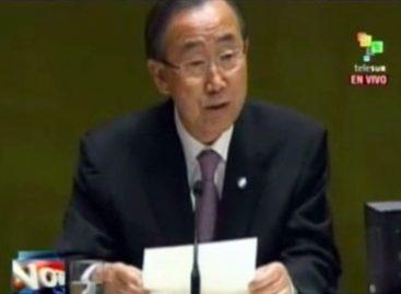 Ban Ki-moon alerta sobre una guerra de largo alcance en Siria