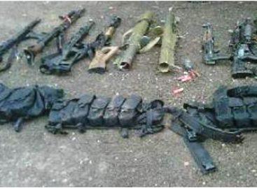 Asegura Ejército Mexicano más de 50 armas largas en el estado de Chiapas