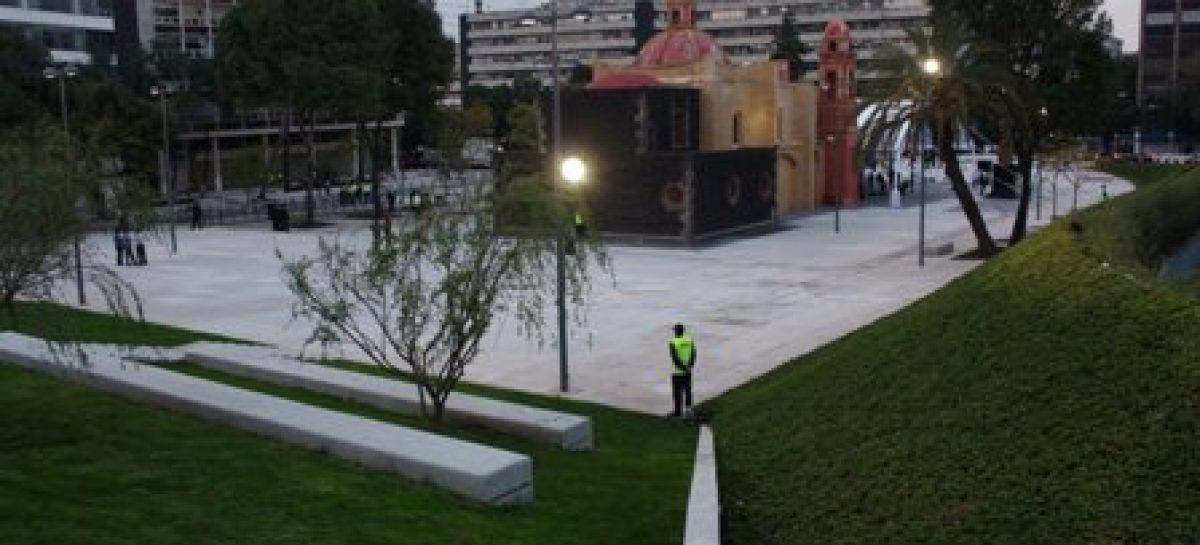 Conoce la nueva fuente monumental y redescubre la capilla de La Concepción, en Plaza Tlaxcoaque