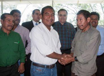 """Firman Santiago Amoltepec y Santa María Zaniza """"Acuerdo de Paz y No Agresión"""""""