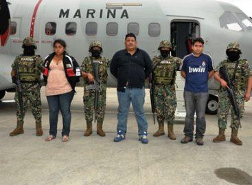 """Preso operador de """"Los Zetas"""" en Campeche; acción conjunta de Marina y PGR"""