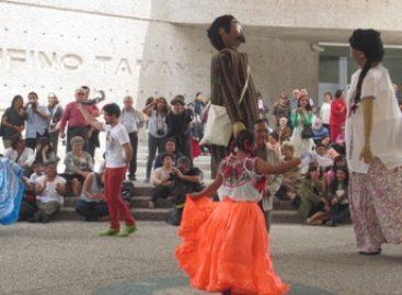 """Con calenda oaxaqueña, abre sus puertas el Museo de Arte Contemporáneo """"Rufino Tamayo"""""""