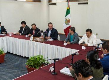 Oaxaca tiene rumbo y avanzamos con firmeza, asegura Cué Monteagudo