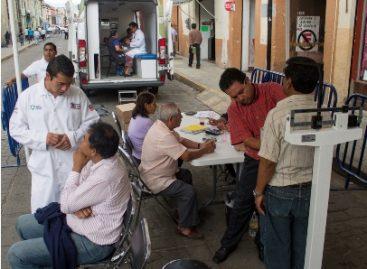 Realiza Secretaría de Salud de Oaxaca Feria de la Salud en la XXI Audiencia Pública