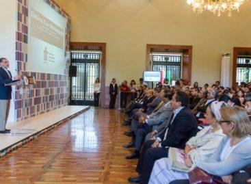 Presenta Gabino Cué Programa de Financiamiento para el Desarrollo de Oaxaca