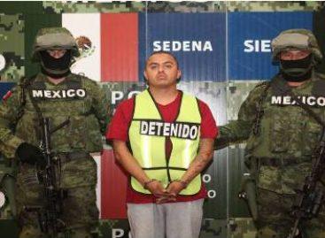 """Detienen a Adrián González Martínez (a) """"El Comandante Niño"""" en Rio Bravo, Tamaulipas"""