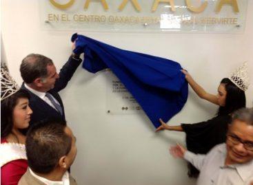 Inauguran Centro Oaxaca en Los Ángeles, California; inicia gobernador de Oaxaca gira por Los Ángeles y Nueva York