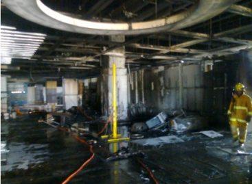 Deja sólo daños materiales incendio en tienda en construcción en Salina Cruz: IEPC