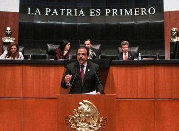 Propone Eviel Pérez Magaña en el Senado ley de pensión única por vejez