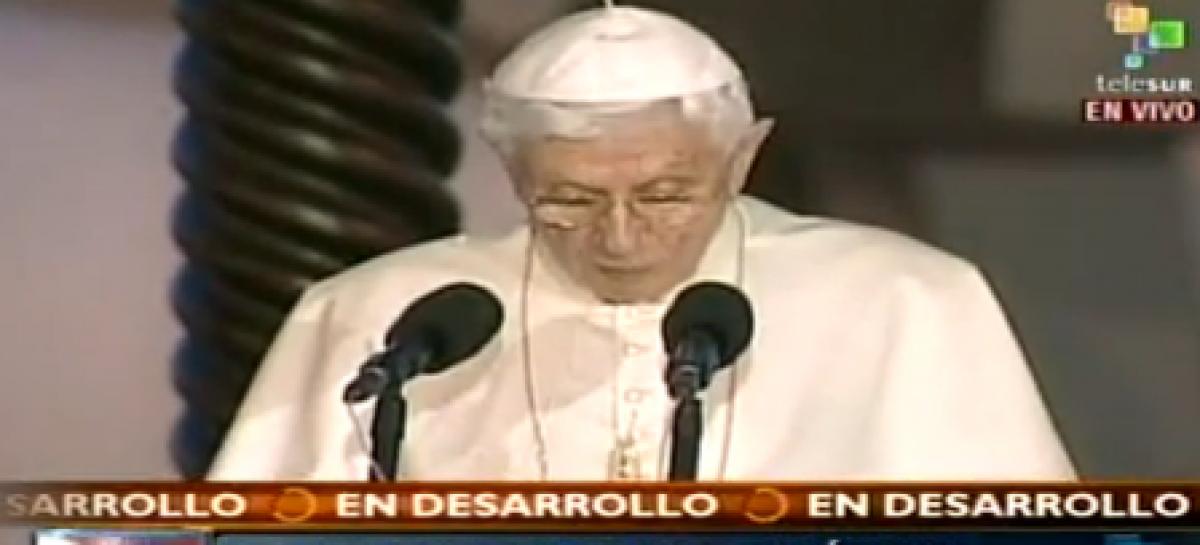 Benedicto XVI pidió en Líbano convivencia pacífica entre comunidades religiosas