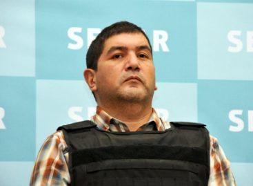 "Presenta Secretaría de Marina a Iván Velázquez Caballero (a) ""Z-50"" y/o ""El Talibán"", detenido en SLP"