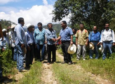 Reencuentro histórico entre comunidades hermanas de la Sierra Sur; Zaniza y Amoltepec