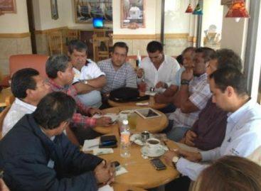 Sostienen reunión dirigencias del PRD, PT y MC rumbo a elecciones 2013, en Oaxaca