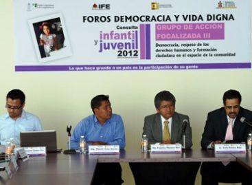 Llama diputado Francisco Martínez Neri a transformar la realidad que viven niños, niñas y jóvenes en Oaxaca