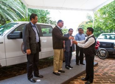 Entregan a la Procuraduría General de Justicia de Oaxaca 35 mdp en equipo táctico