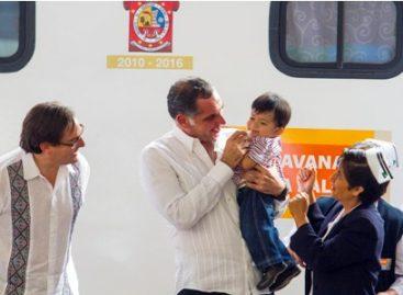 Inauguran Salomón Chertorivsky y Gabino Cué Tercera Semana Nacional de Salud 2012