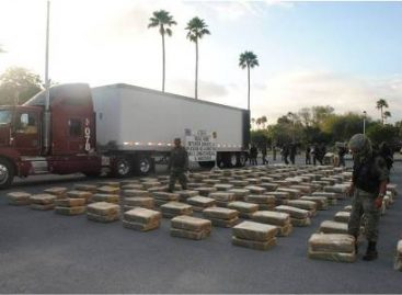 Asegura personal militar más de ocho toneladas de mariguana en Reynosa, Tamaulipas
