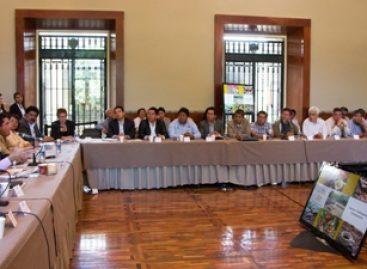 Acuerdan gobierno de Oaxaca, legisladores y senadores federales unir esfuerzos a favor del sector cafetalero