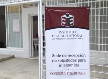 Publican lista de aspirantes para integrar Consejos Distritales en Oaxaca