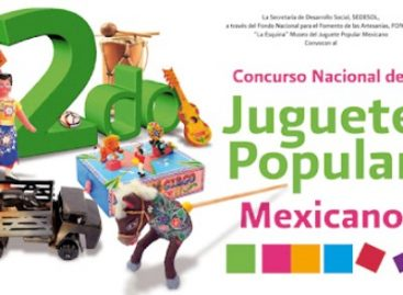 Premian a 33 artesanos ganadores del II Concurso Nacional del Juguete Popular Mexicano