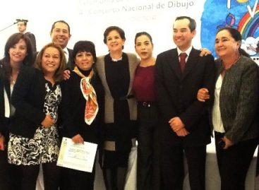 """Por segundo año consecutivo, obtiene DIF Oaxaca primer lugar del concurso nacional de dibujo """"Yo vivo sin violencia"""""""