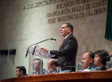 Gobierno, fiel y actuante con la doctrina juarista: Gabino Cué