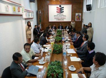 Declaran inicio formal de actividades del proceso electoral 2012–2013 en Oaxaca