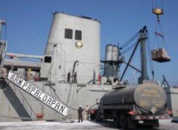 """Buque """"Papaloapan"""" de la Armada de México entrega ayuda Cuba"""