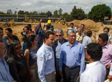 """En marcha construcción del Polideportivo """"Venustiano Carranza"""" en Oaxaca"""