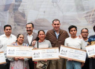 Refrenda Gobierno de Oaxaca compromiso con migrantes; entregan 18.4 mdp para proyectos y autoempleo