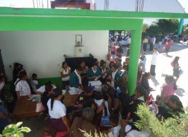 Lleva IMSS servicios médicos gratuitos a poblaciones rurales de la Sierra Sur de Oaxaca