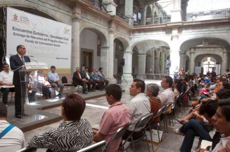 Fundamental la participación de la sociedad civil en la vida social y política de Oaxaca: Sedesoh