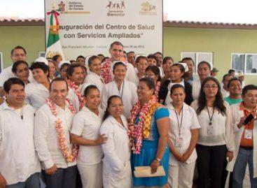 En operación 22 unidades médicas en dos años de gobierno; ejercen 700 mdp: Cué Monteagudo