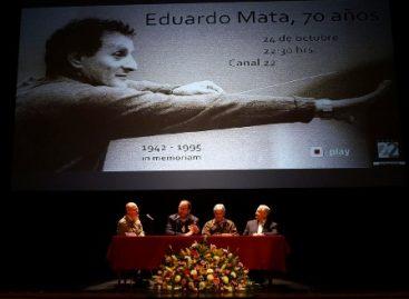 Eduardo Mata, ser humano exigente y riguroso, con un apetito cultural inconmensurable