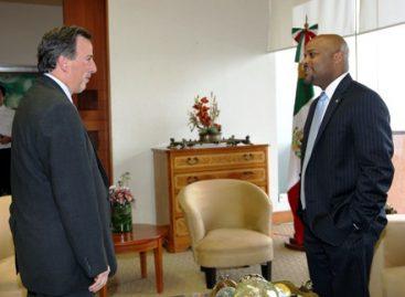 Reunión del Canciller Meade con Alcalde de Denver, Colorado EU