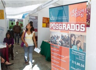 Registra gran afluencia Tercer Expo Feria de Posgrado 2012, en Oaxaca