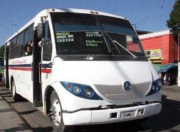 En enero se ajusta 50 centavos pasaje del transporte urbano