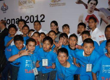 Convocan a la comunidad deportiva de Oaxaca a participar en la Olimpiada Nacional 2013
