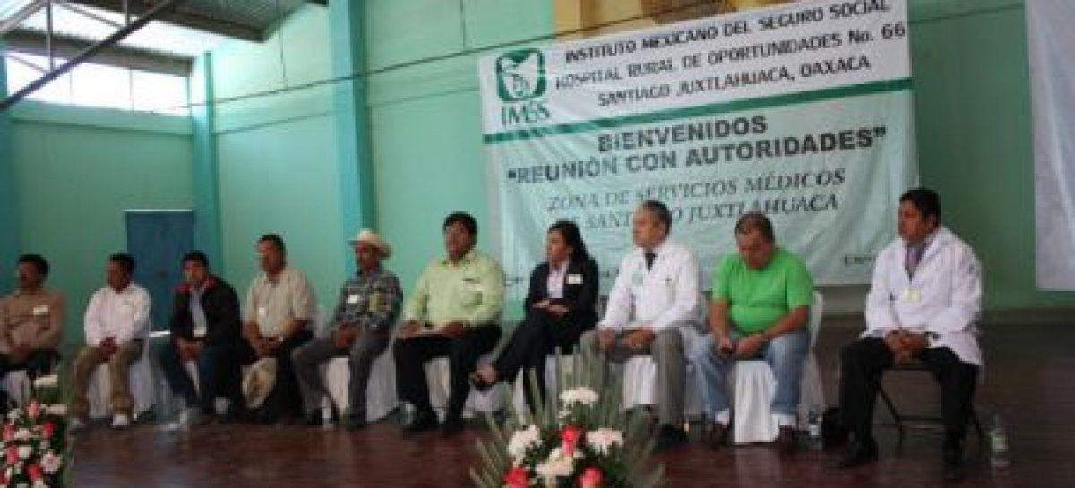 Suman esfuerzos autoridades municipales e IMSS para combatir muerte materna en la Mixteca de Oaxaca
