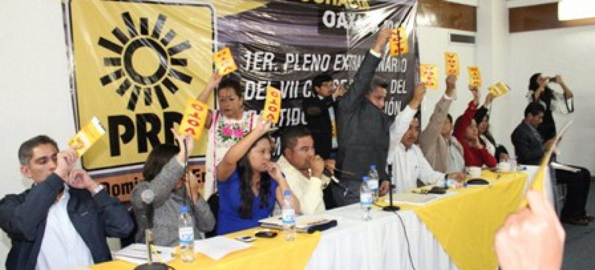 Aprueba Pleno del Consejo del PRD convocatoria para registro de pre candidatos en Oaxaca