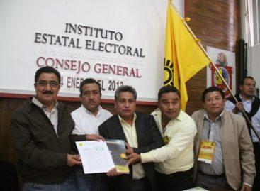 Entrega PRD plataforma electoral para elecciones de diputados y munícipes en Oaxaca