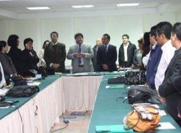 Primer reunión de directores de hospitales del  IMSS