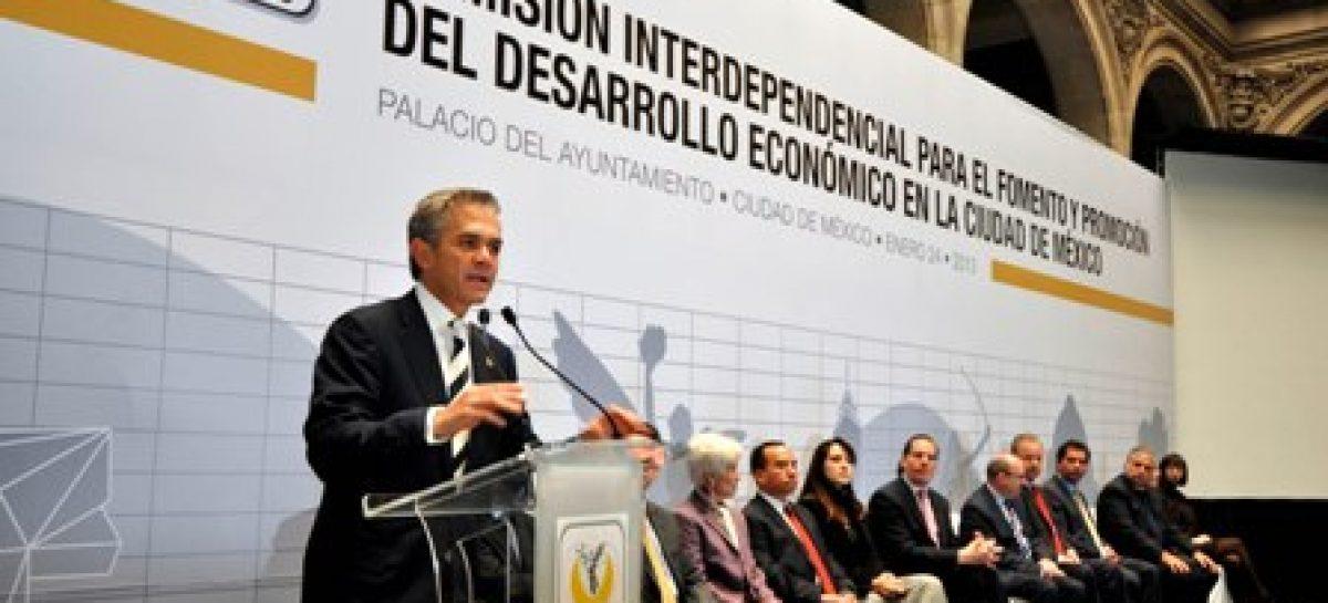 Dejará Ciudad de México de ser netamente recaudadora para convertirse en generadora de riqueza: Mancera