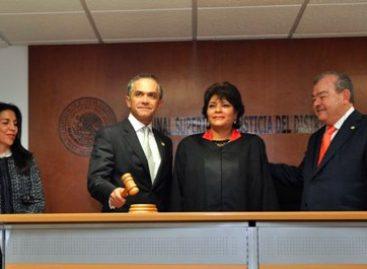 Juicios orales, compromiso y transparencia en impartición de justicia en el DF