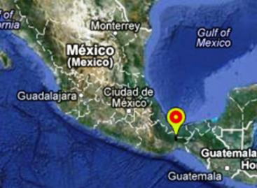 Se registra sismo de 5 grados richter con epicentro en Matías Romero, Oaxaca