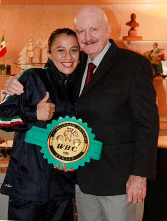 Irma García Núñez campeona mundial de Peso Gallo