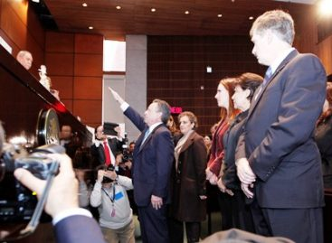 Medina Mora protesta como Embajador de México en Estados Unidos